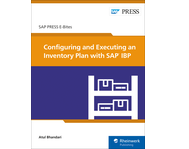 Cover von Configuring and Executing an Inventory Plan with SAP IBP