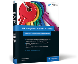 Cover von SAP Integrated Business Planning