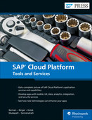 Cover of SAP Cloud Platform: Tools and Services