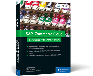 Cover of SAP Commerce Cloud: Commerce with SAP C/4HANA