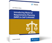 Cover von Introducing Material Requirements Planning (MRP) in SAP S/4HANA