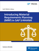 Cover of Introducing Material Requirements Planning (MRP) in SAP S/4HANA