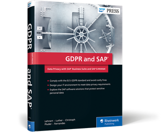 Cover of GDPR and SAP