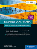 Cover von Extending SAP S/4HANA