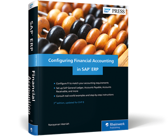 Cover von Configuring Financial Accounting in SAP ERP