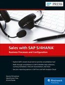 Cover of Sales with SAP S/4HANA