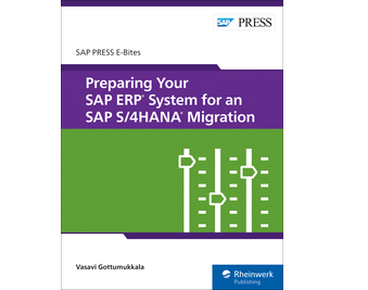 Cover von Preparing Your SAP ERP System for an SAP S/4HANA Migration