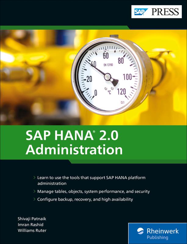 SAP HANA 2 0 Administration