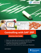 Cover von Controlling with SAP ERP: Business User Guide