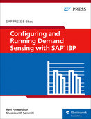 Cover of Configuring and Running Demand Sensing with SAP IBP