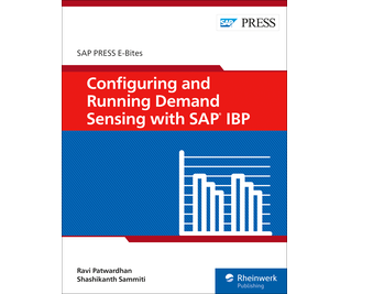 Cover von Configuring and Running Demand Sensing with SAP IBP