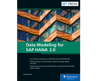 Cover of Data Modeling for SAP HANA 2.0