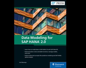 Cover von Data Modeling for SAP HANA 2.0
