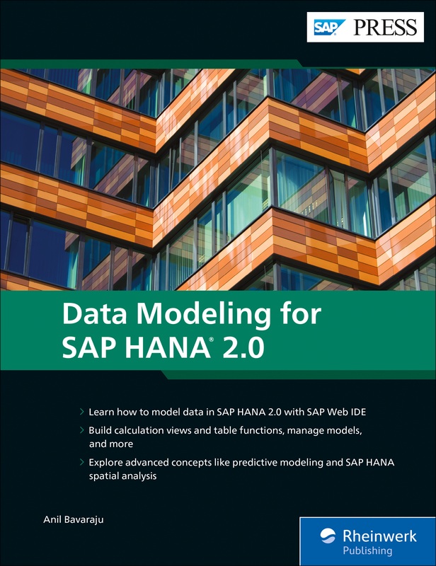 Data Modeling for SAP HANA 2 0