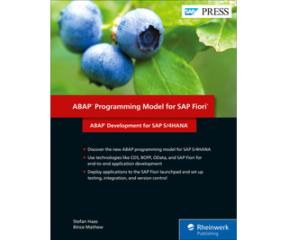 Cover of ABAP Programming Model for SAP Fiori