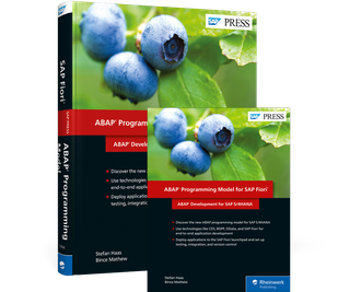 Cover von ABAP Programming Model for SAP Fiori