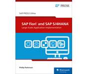 Cover of SAP Fiori and SAP S/4HANA: Large-Scale Application Implementation