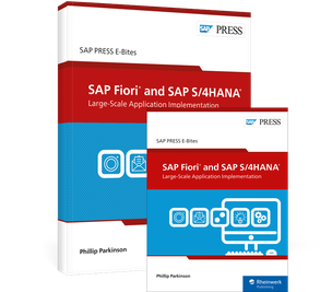 Cover von SAP Fiori and SAP S/4HANA: Large-Scale Application Implementation