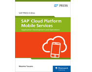 Cover von SAP Cloud Platform Mobile Services: Application Development and Operations