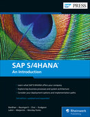 Cover of SAP S/4HANA