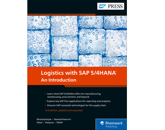 Cover of Logistics with SAP S/4HANA