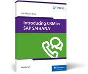 Cover of Introducing CRM in SAP S/4HANA