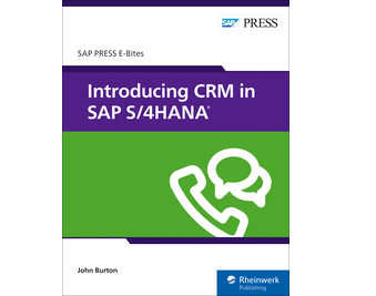 Cover von Introducing CRM in SAP S/4HANA