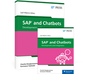 Cover von SAP and Chatbots: Development and Integration