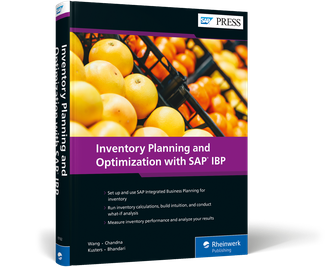 Cover von Inventory Planning and Optimization with SAP IBP