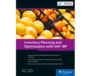 Cover of Inventory Planning and Optimization with SAP IBP