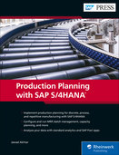 Cover von Production Planning with SAP S/4HANA