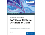 Cover von SAP Cloud Platform Certification Guide