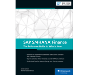 Cover of SAP S/4HANA Finance: The Reference Guide to What's New
