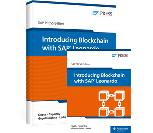Cover von Introducing Blockchain with SAP Leonardo