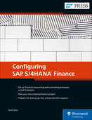 Cover von Configuring SAP S/4HANA Finance