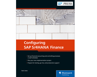 Cover of Configuring SAP S/4HANA Finance
