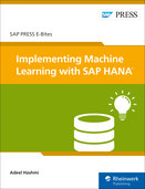 Cover von Implementing Machine Learning with SAP HANA