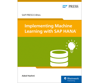 Cover of Implementing Machine Learning with SAP HANA