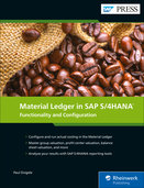 Cover von Material Ledger in SAP S/4HANA