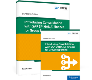 Cover von Introducing Consolidation with SAP S/4HANA Finance for Group Reporting