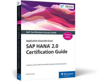 Cover of SAP HANA 2.0 Certification Guide: Application Associate Exam