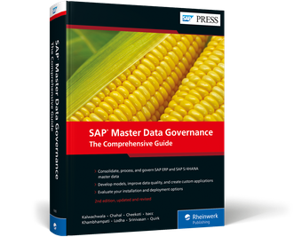 Cover of SAP Master Data Governance