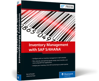 Cover von Inventory Management with SAP S/4HANA