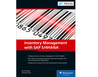 Cover of Inventory Management with SAP S/4HANA
