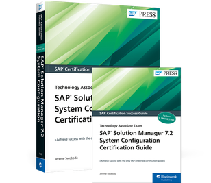 Cover von SAP Solution Manager 7.2 System Configuration Certification Guide