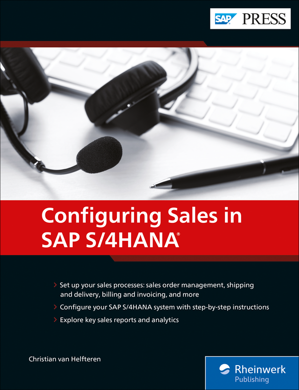 Sales with SAP S/4HANA - Business Processes and Configuration