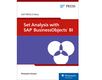 Cover von Set Analysis with SAP BusinessObjects BI