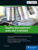Cover von Quality Management with SAP S/4HANA