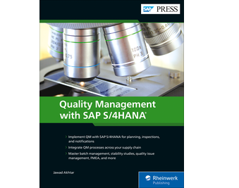 Cover von Quality Management with SAP S/4HANA