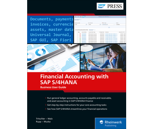 Cover of Financial Accounting with SAP S/4HANA: Business User Guide